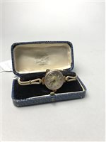 Lot 1-A LADY'S  GOLD WRIST WATCH