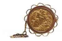 Lot 506-A GOLD SOVEREIGN, 1903