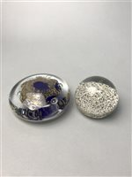 Lot 48-A CAITHNESS PIXIE GLASS PAPERWEIGHT AND OTHER PAPERWEIGHTS
