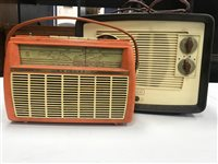 Lot 55-A LOT OF TWO VINTAGE RADIOS