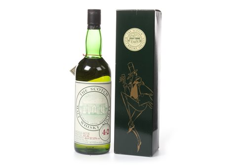 Lot 1105-HIGHLAND PARK 1973 SMWS 4.2 AGED 10 YEARS