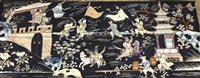 Lot 1055-20TH CENTURY CHINESE SILK EMBROIDERY