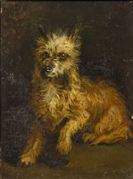 Lot 441-PORTRAIT OF A DOG