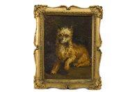 Lot 441-PORTRAIT OF A DOG