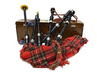 Lot 1429-A SET OF HIGHLAND BAGPIPES BY McLEOD, FORFAR
