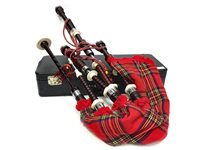 Lot 1499-A SET OF HIGHLAND BAGPIPES