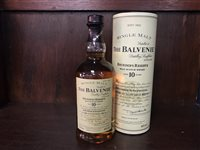 Lot 4-BALVENIE FOUNDERS RESERVE AGED 10 YEARS