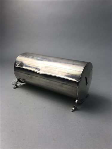 Lot 23-A SILVER CIGARETTE DISPENSER