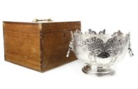 Lot 814 - AN IMPRESSIVE SILVER MONTEITH