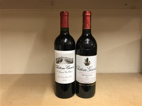 Lot 12-FOUR BOTTLES OF CHATEAU GISCOURS 2000 & TWO CHATEAU GISCOURS 2009