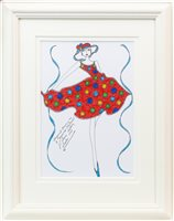 Lot 36-AN ORIGINAL ILLUSTRATION FOR LAURA ASHLEY, BY ROZ JENNINGS