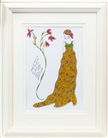 Lot 39-AN ORIGINAL ILLUSTRATION FOR LAURA ASHLEY, BY ROZ JENNINGS
