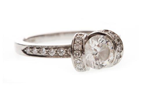 Lot 1-A TIFFANY AND CO. DIAMOND RING