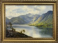 Lot 469 - LOCH SCENE, BY GEORGE MELVIN RENNIE
