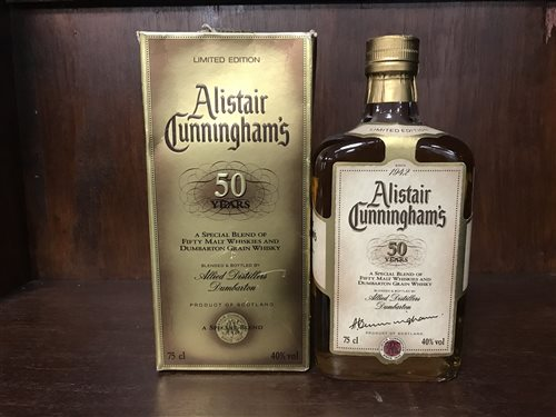 Lot 1-ALISTAIR CUNNINGHAM'S 50 YEARS