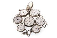 Lot 766-A COLLECTION OF VARIOUS POCKET WATCHES