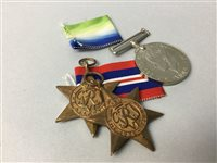 Lot 20-A LOT OF THREE WWII MEDALS