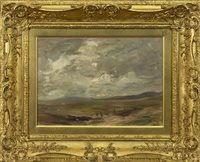 Lot 482 - ARRAN, AN OIL ON CANVAS BY SIR JAMES LAWTON WINGATE