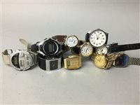 Lot 22-A LOT OF VARIOUS WATCHES