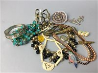 Lot 23-A LOT OF COSTUME JEWELLERY