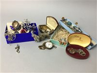 Lot 24-A LOT OF COSTUME JEWELLERY