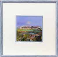 Lot 167 - AFTER THE RAIN, A MIXED MEDIA BY MAY BYRNE