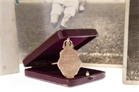Lot 904-A GOLD SCOTTISH CUP MEDAL AWARDED TO WILLIAM CRINGAN