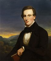 Lot 479-PORTRAIT OF JOHN LOGAN CAMPBELL, BY JOHN WATSON GORDON