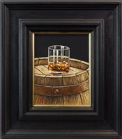 Lot 40-A SINGLE CASK MALT, AN OIL ON CANVAS BY GRAHAM MCKEAN