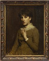 Lot 491 - PORTRAIT OF A WOMAN