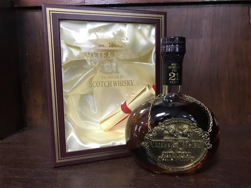 Lot 2-WHYTE & MACKAY 21 YEAR OLD