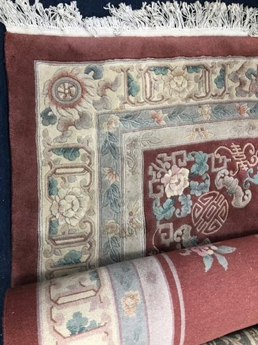 Lot 945-A LARGE CHINESE BORDERED CARPET