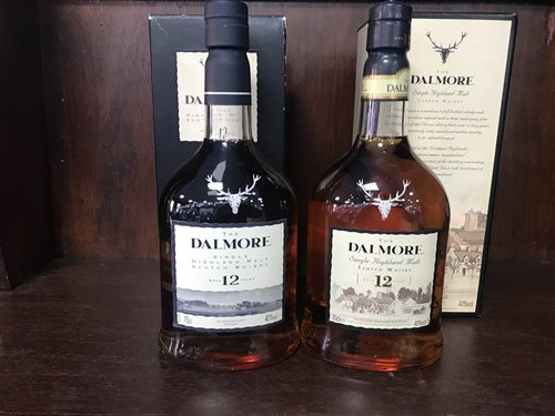 Lot 17-TWO BOTTLES OF DALMORE AGED 12 YEARS
