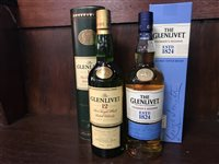 Lot 19-GLENLIVET AGED 12 YEARS & GLENLIVET FOUNDER'S RESERVE