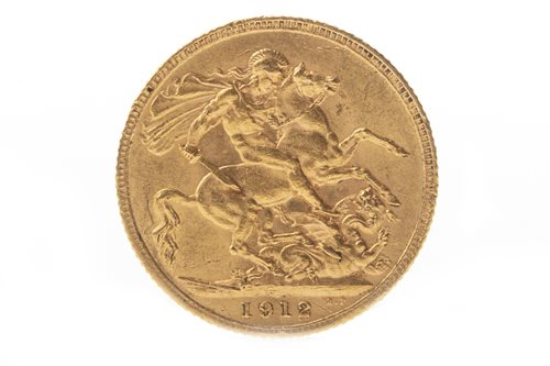 Lot 503-A GOLD SOVEREIGN, 1912