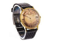 Lot 755-A GENTLEMAN'S OMEGA AUTOMATIC GOLD PLATED WRIST WATCH