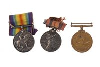 Lot 947-A SOUTH AFRICA MEDAL WITH TWO CLASPS ALONG WITH TWO WWI MEDALS