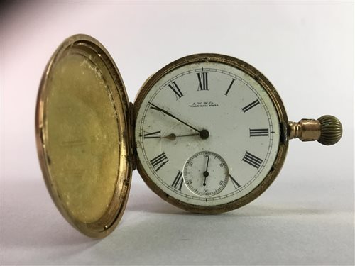 Lot 11-A GROUP OF GOLD AND OTHER JEWELLERY AND WATCHES
