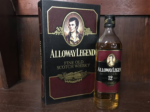 Lot 6-ALLOWAY LEGEND AGED 12 YEARS