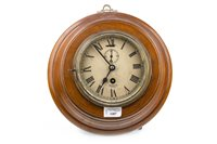 Lot 1407-A SMITH ASTRAL WALL CLOCK