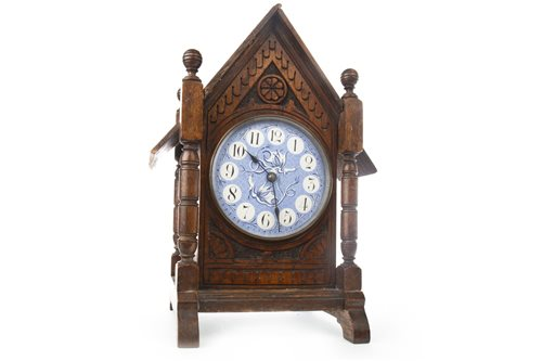 Lot 1409-AN ARCHITECTURAL CLOCK