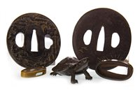 Lot 1031-A LOT OF JAPANESE BRONZE OBJECTS