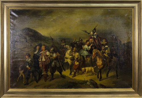 Lot 493-THE CAVALRY, BY EDGAR BUNDY