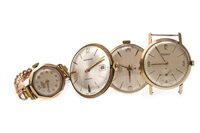 Lot 790 - A COLLECTION OF NINE CARAT GOLD WATCHES