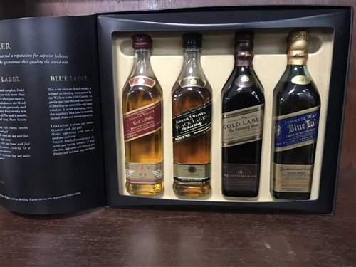 Lot 10-JOHNNIE WALKER THE COLLECTION