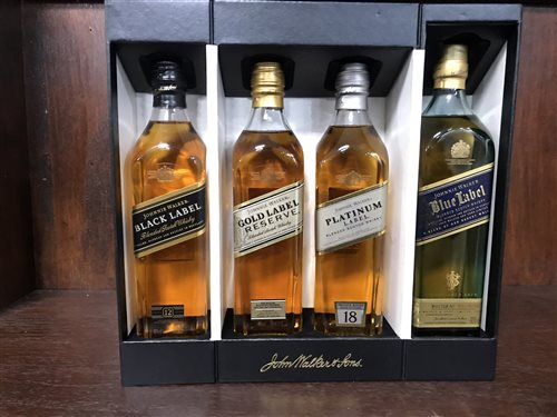 Lot 12-THE JOHNNIE WALKER COLLECTION