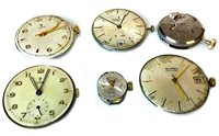 Lot 769-A COLLECTION OF VARIOUS WATCH DIALS AND MOVEMENTS
