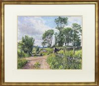 Lot 466-OLD DUNDEE - BLAIRGOWRIE RAILWAY LINE, AN ORIGINAL WATERCOLOUR BY JAMES MCINTOSH PATRICK
