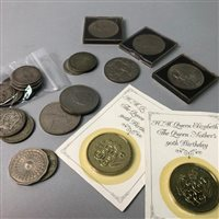 Lot 6-COLLECTION OF VICTORIAN AND LATER COINS