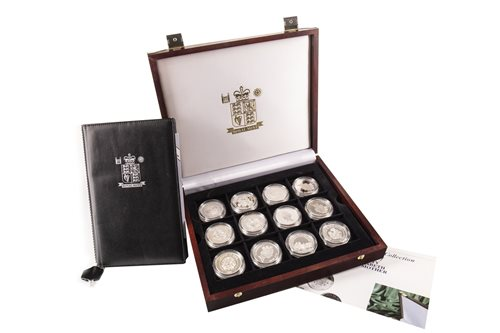 Lot 507-A LADY OF THE CENTURY SILVER PROOF COLLECTION